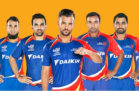 Delhi Daredevils Team Squad