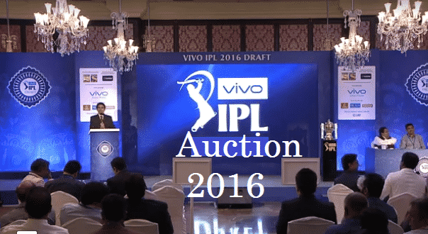 IPL Auction 2016