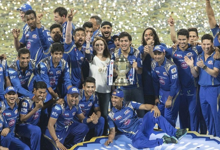IPL Winners Teams