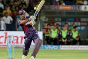 Dhoni Hitting Longest Six of IPL 2016