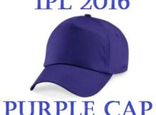 IPL 2016 Purple Cap