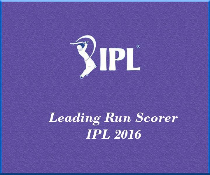 IPL T20 2016