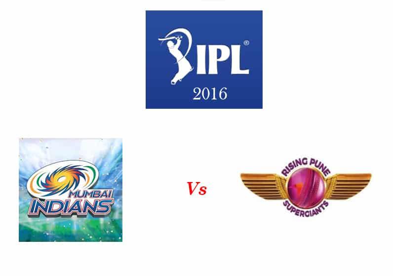 MI vs RPS IPL 2016