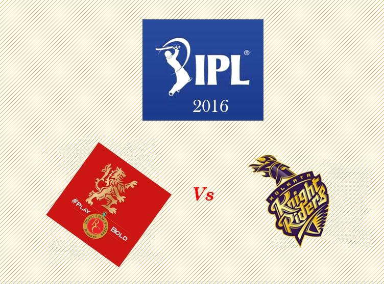 KKR vs RCB pl 2016