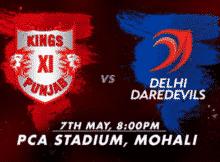 KXIP vs DD IPL 2016