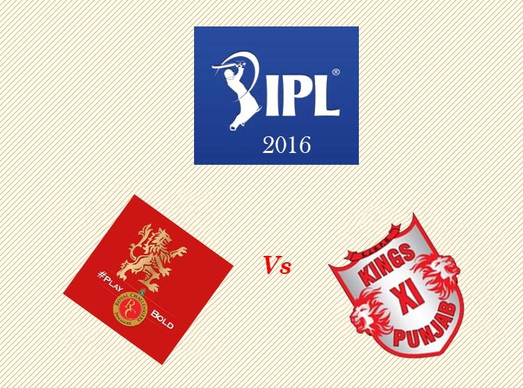 RCB vs KXIP Match Prediction