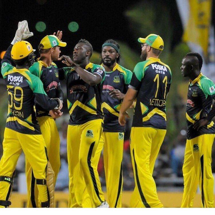 Jamaica Tallawahs squad