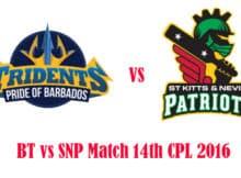 BT vs SNP Match Prediction