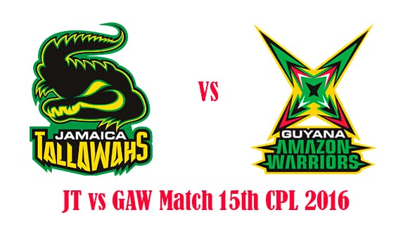 JT vs GAW Match Prediction
